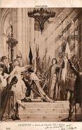 PANTHEON LENEPVEU SACRE DE CHARLES VII A REIMS - Peintures & Tableaux