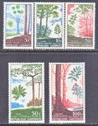 GABON  223-5, C 61-2  *   TREES - Bäume