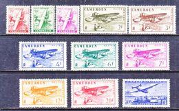 FRENCH  CAMEROUN  C 15-25    *   AERO - Cameroun (1915-1959)