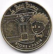 MEDAILLE TOURISTIQUE MONNAIE DE PARIS 75006 PETIT PRINCE 2018 - Monnaie De Paris