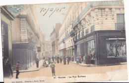 NANTES  LA RUE BOILEAU - Nantes