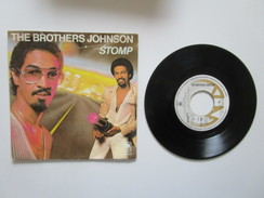 Vinyle 45 Tours 1980. The Brothers Johnson. Stomp / Let's Swing. AMS 7657 - Soul - R&B