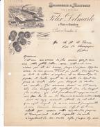 59 Pont S/Sambre. Brasserie' Malterie Felix Delmarle. Lettre De 1945,tb Entête Commerciale. Tb état. - 1900 – 1949