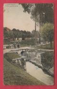 Quiévrain - Vue ... Vers Le France - Retenue D'eau - Jolie Vue Couleur - 1909  ( Voir Verso ) - Quiévrain