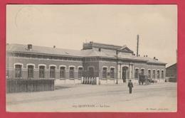 Quièvrain - La Gare -Attelage -1907 ( Voir Verso ) - Quiévrain