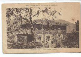 Saumane,la Becedelle,les Auberges De Jeunesse De France,carte Assez Rare En Etat Moyen - France