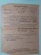 Brief Postsparcassen > WIEN - Anno 1898 > Wien ( Zie/voir Foto Voor Details ) ! - Autres