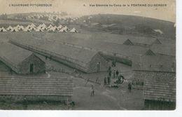 """ORCINES Vue Générale Du Camp De La Fontaine Du Berger- Cachet Du """"Dépot Du Détachement"""" - Bon état - France"""