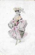 Mode: Illustration Signée (P.H.?) - Modes Tourneur - Belle Avec Carton à Chapeau - Edition Kossuth Sc. - Moda