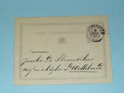 Carte Correspondance Anvers - Anno 1877 > St. Willebrord ( Zie/voir Foto Voor Details ) ! - Belgique