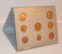 2006 VATICANO - DIVISIONALE FDC FIOR DI CONIO 2006 - 8 MONETE - PONTIFICATO PAPA BENEDETTO XVI° - Vaticano
