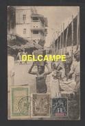 DD / MADAGASCAR / COLONIE FRANÇAISE TP 28 TYPE GROUPE + TP 64 ZEBU ARBRE DU VOYAGEUR + TP 97 FILANZANE / 1911 - Madagaskar (1889-1960)