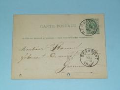 Carte Correspondance Renaix - Anno 1883 > Grammont ( Zie/voir Foto Voor Details ) ! - Belgique