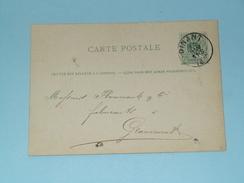 Carte Postale Dinant ( A. Degraux Tissus - Anno 1883 > Grammont ( Zie/voir Foto Voor Details ) ! - Belgique