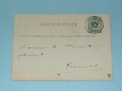 Carte Postale > Dison ( Renouprez & Leroy Petit Rechain ) - Anno 1881 > Grammont( Zie/voir Foto Voor Details ) ! - Privées & Locales