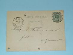 Carte Postale > Bruxelles - Anno 1885 > Grammont ( Zie/voir Foto Voor Details ) ! - Belgique