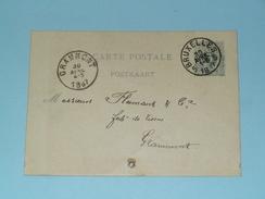 Carte Postale > Bruxelles - Anno 1887 > Grammont ( Zie/voir Foto Voor Details ) ! - Belgique