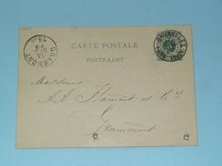 Carte Postale > Bruxelles ( Gustave Pelgrims ) - Anno 1885 > Grammont ( Zie/voir Foto Voor Details ) ! - Belgique