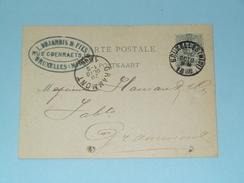Carte Postale > Bruxelles ( L. Dujardin & Fils Rue Coenraets ) - Anno 1886 > Grammont ( Zie/voir Foto Voor Details ) ! - Belgique