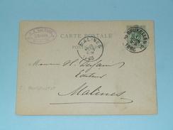 Carte Postale > Bruxelles ( G A Van Trigt Libraire ) - Anno 1885 > Malines ( Zie/voir Foto Voor Details ) ! - Belgique