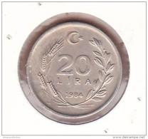 AC - TURKEY 20 LIRA 1984 - Turkije