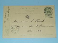 Carte Postale > Blankenberghe - Anno 1905 > Anvers ( Zie/voir Foto Voor Details ) ! - Belgique