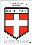 CPM     ECUSSON AUTOCOLLANT   BLASON      74     HAUTE SAVOIE - Postcards