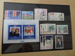 Liechtenstein 1992 Postfrisch Komplett (3932) - Liechtenstein