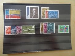 Liechtenstein 1960 Postfrisch Komplett (4319) - Liechtenstein