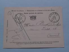 Carte Postale De Services Min. Finances > Anvers - Anno 1893 > Anvers ( Zie/voir Foto Voor Details ) ! - Belgique