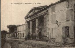 MARENNES LE TEMPLE - Marennes
