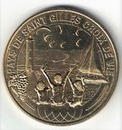 Monnaie De Paris 85.Saint Gilles Croix De Vie - Enfants Phare Et Voilier 2014 - Monnaie De Paris