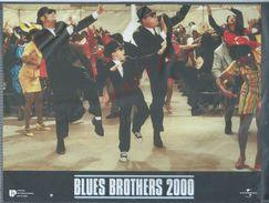 ORIGINALE AFFICHE 27X21 DE CINEMA BLUES BROTHERS 2000 AFFICHE SCANNER DANS SA POCHETTE POUR NE PAS PLIER : - Posters