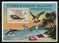 Turks & Caicos, Yvert BF14, Scott 385, MNH - Turks- En Caicoseilanden