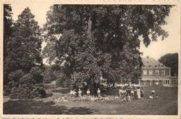 """BELGIQUE - LIEGE - HUY - """"L'Heureux Abri"""" Château De Solière - Groupe D'enfants. - Huy"""