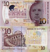 SCOTLAND - BoS     10 Pounds      P-New       1.6.2016       UNC - [ 3] Scotland