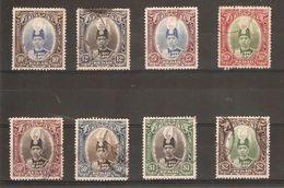 MALAYA - KEDAH 1937 SET TO $2 SG 60/67 FINE USED HIGH CAT VALUE - Kedah