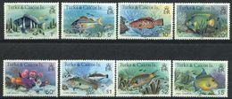 Turks & Caicos, Yvert 563/570, Scott 360a/374a, SG 514B/528B, MNH - Turks And Caicos