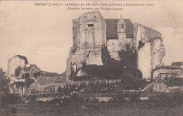 Cp , 36 , CRISSAY , Le Château Du XIIe S., Ayant Appartenu à Guillaume-de-Turpon - Sonstige Gemeinden