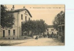 BEAUREPAIRE - La GARE Animée - Hôtel Café FLAVIN - 2 Scans - France