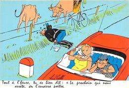 """¤¤  -  Illustrateur """" René CAILLE """"  -  Gendarme   -  ¤¤ - Autres Illustrateurs"""
