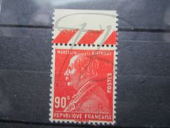 VEND BEAU TIMBRE DE FRANCE N° 243 + BDF , XX !!!! - France