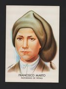 1970years ART POSTCARD PORTUGAL FATIMA FRANCISCO MARTO Saint Canonized - Other Collections