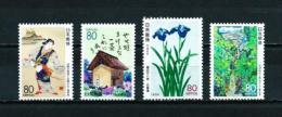 Japón  Nº Yvert  2102/5  En Nuevo - 1989-... Emperador Akihito (Era Heisei)