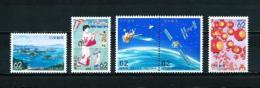 Japón  Nº Yvert  1987-1990-1991/2-1993  En Nuevo - 1989-... Emperador Akihito (Era Heisei)
