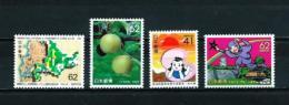 Japón  Nº Yvert  1946/49  En Nuevo - 1989-... Emperador Akihito (Era Heisei)