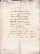 1764 - Vente D'un MOULIN à HUILE Et SAVONNERIE Attenant à Une Petite Maison - Perpignan Paroisse St Mathieu - Documents Historiques