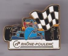 Pin's F 1 RHONE-POULENC SIGNE ARTHUS BERTRAND - Arthus Bertrand