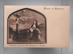 ST.  MADELEINE DE PAZZIS ST. MAGDALENA ART POSTCARD 1912 BELGIUM BRUGES  Z1 - Unclassified