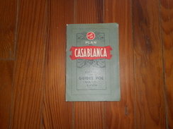PLAN DE CASABLANCA GUIDES POL 1er EDITION - Maps